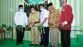 Wagub Abdul Fatah Resmikan Laboratorium Seni Budaya SMA Muhammadiyah Toboali