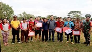 Wakil Bupati Apresiasi Simpang Gong Cup