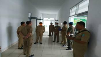 Wakil Bupati Bangka Pantau Posko Gugus Tugas Penanganan Covid-19 di Belinyu