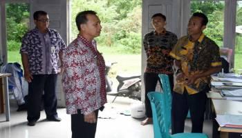 Wakil Bupati Bangka Sidak Kantor Lurah di Belinyu, Ada Kantor yang Ngontrak Rumah Warga