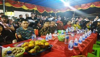 Wakil Bupati Markus Hadiri Sembahyang Rebut di Desa Klabat