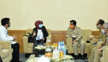 Wakil Gubernur Abdul Fatah Menerima Rekomendasi Tim BPK RI Babel