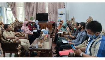 Wakil Ketua DPRD Bangka Terima Kunjungan Forum KPT2S