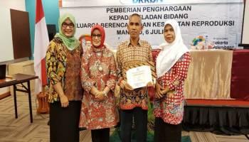 Wakili Babel, Bangka Tengah Sabet 2 Penghargaan Harganas Tingkat Nasional 2018