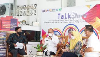 Wali Kota Jadi Pembicara Talk Show Kotaku, Berupaya Wujudkan Pangkalpinang SENYUM