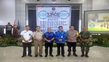 Wali Kota Pangkal Pinang Bersama Forkopimda Komitmen Perangi Narkoba