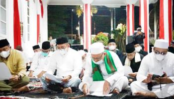 Wali Kota Pangkalpinang Laksanakan Istighosah Qubro Berdoa Agar Pandemi Covid-19 Segera Berakhir
