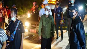 Wali Kota Pangkalpinang Patroli Covid-19, Puluhan Pemilik Kafe Diamankan