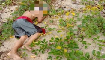 Warga Penyak Ditemukan Meninggal Tertelungkup di Pesisir Pantai