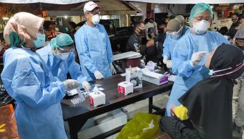 Warkop Yumin Jadi Target Swab Antigen, 87 Pelanggan Hasilnya Negatif