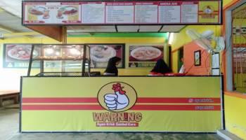 Warning  Hadirkan Konsep Ayam Kriuk Sambal Korek