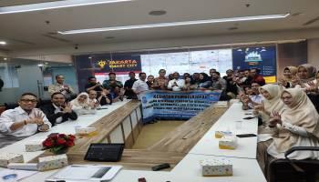 Wartawan dan Humas Pemkot Pangkalpinang Kunjungi Diskominfotik DKI Jakarta