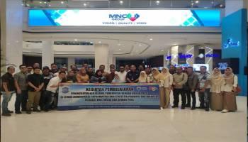 Wartawan dan Humas Pemkot Pangkalpinang Kunjungi Kantor MNC Group