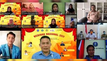 Webinar HIMAMA FE UBB, Bahas Perekonomian Hingga Hikmah di Masa Pandemi