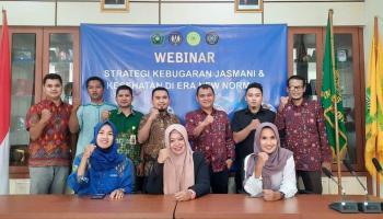 Webinar STKIP Muhammadiyah Babel Bahas Strategi Kebugaran di Era New Normal
