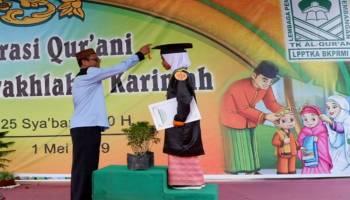 Wisuda 824 Santri TPA, BKPRMI Siapkan Kader Terbaik Bagi Kabupaten Bangka