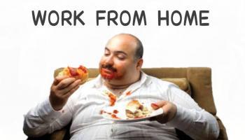 Work From Home Buat Tubuh Semakin Gemuk