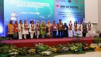 Workshop E-smart IKM Diikuti 200 Pengusaha, Melati Erzaldi: Pengrajin Babel Harus Open Minded