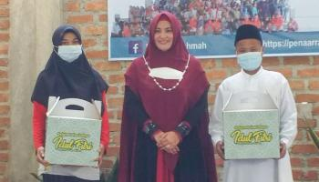Yayasan Pena Ar-Rahmah Bagikan Santunan Kepada 250 Anak Yatim Piatu dan Duafa
