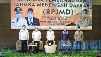 Yuliyanto Satin Ajak Bupati dan Wakil Bupati Terpilih Bahas RPJMD Bateng 2021-2026