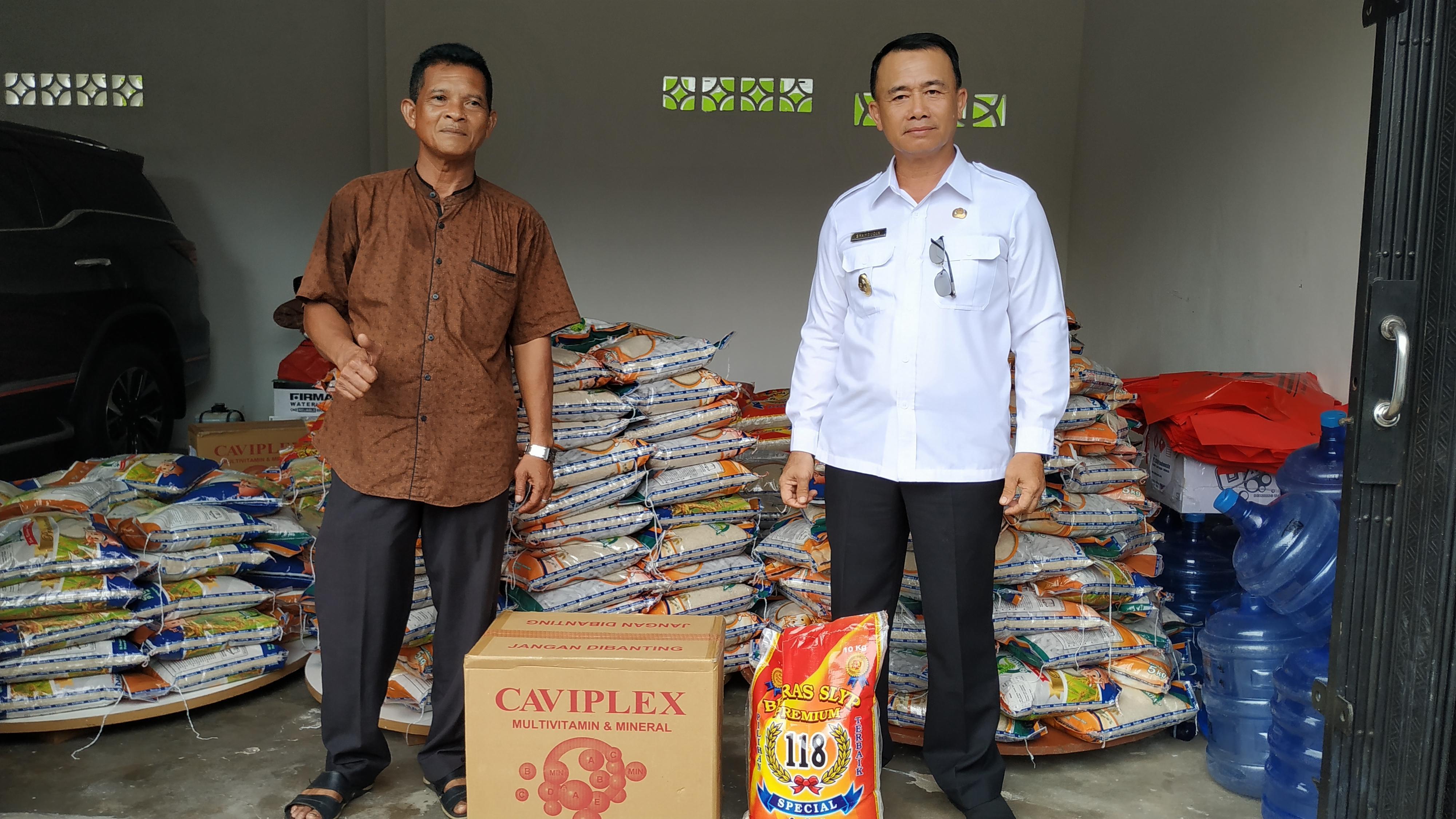 Syahbudin Siapkan Bantuan Sembako Untuk Masyarakat Yang Sedang Jalani Isolasi Mandiri Akibat Covid-19