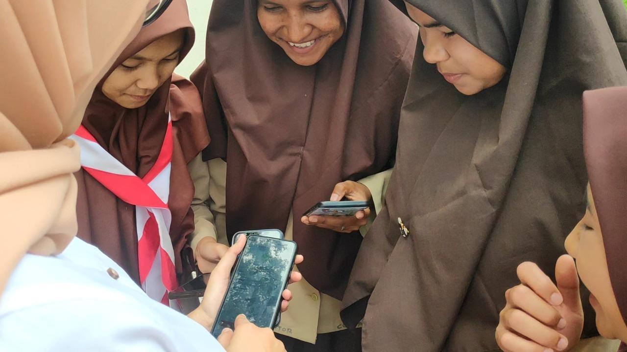 Tekomsel Peduli Daerah Terpencil, Kini Pelajar di Tigo Lurah Bisa Belajar Daring