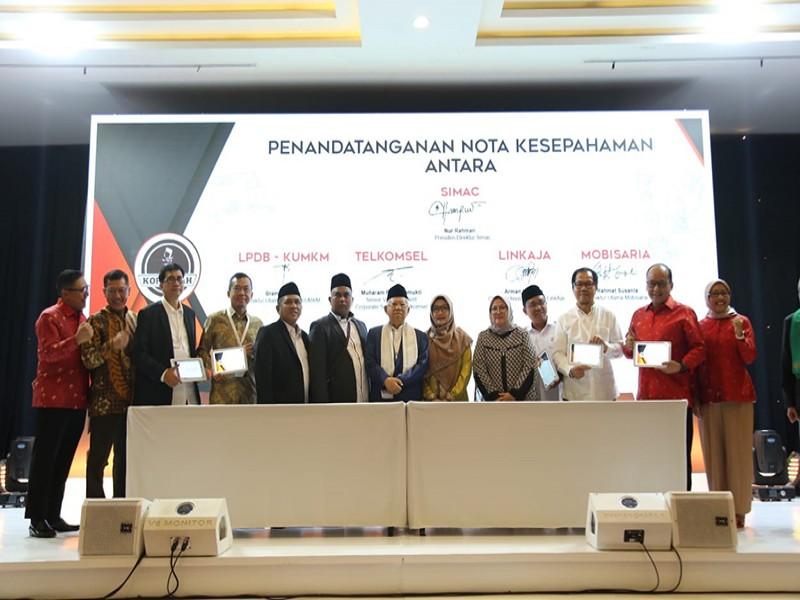 Telkomsel Dorong Santri Milenial Kembangkan Bisnis Digital lewat Kolaborasi Santri Milenial Center