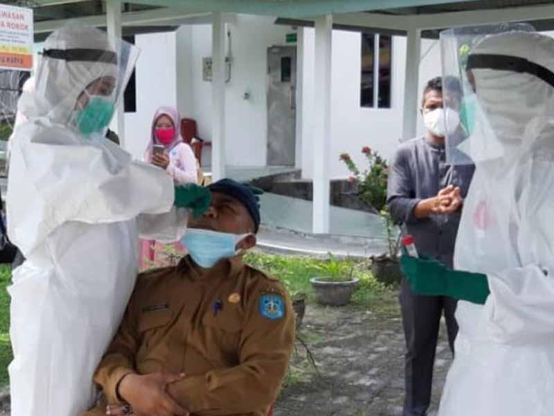 Terus Bertambah, Hari Ini Tiga Orang Terkonfirmasi Covid-19 di Kabupaten Bangka