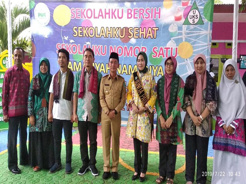 Tim Penilai Lomba Sekolah Sehat Nasional Kunjungi TK Amaliah Sungailiat