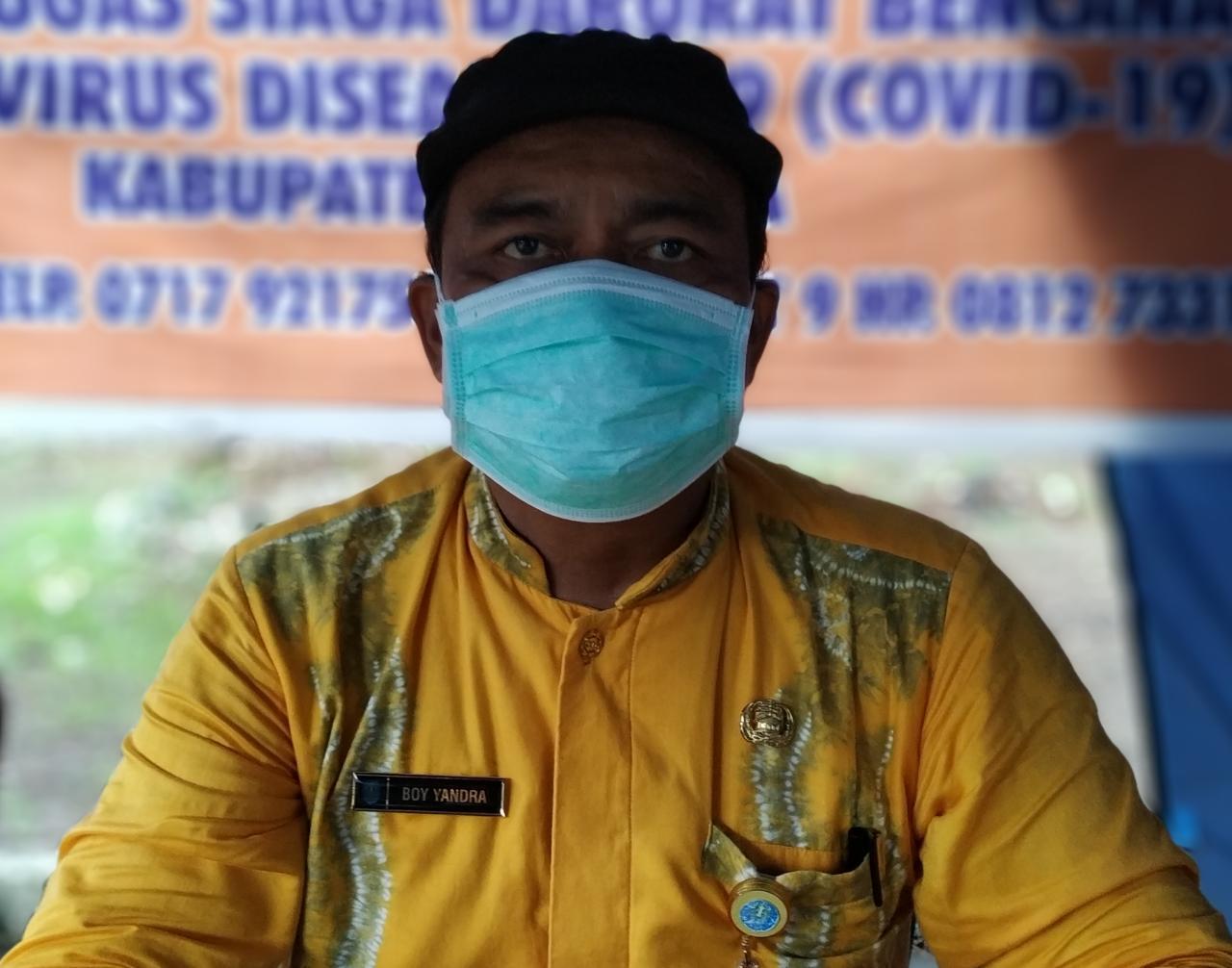 Tingkat Kesembuhan Pasien Covid-19 Di Pemkab Bangka Mencapai 58 Persen