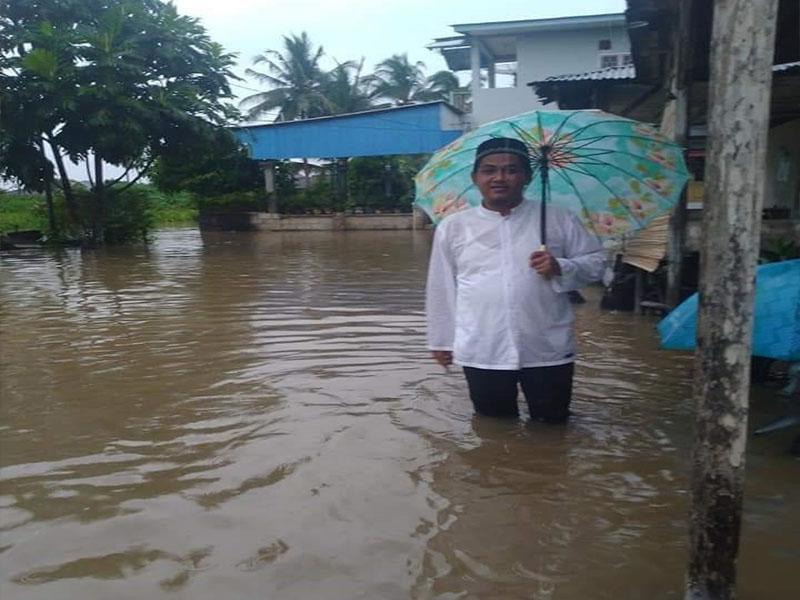 Tinjau Titik Banjir, Arnadi: Saluran Air tidak Berfungsi dengan Baik