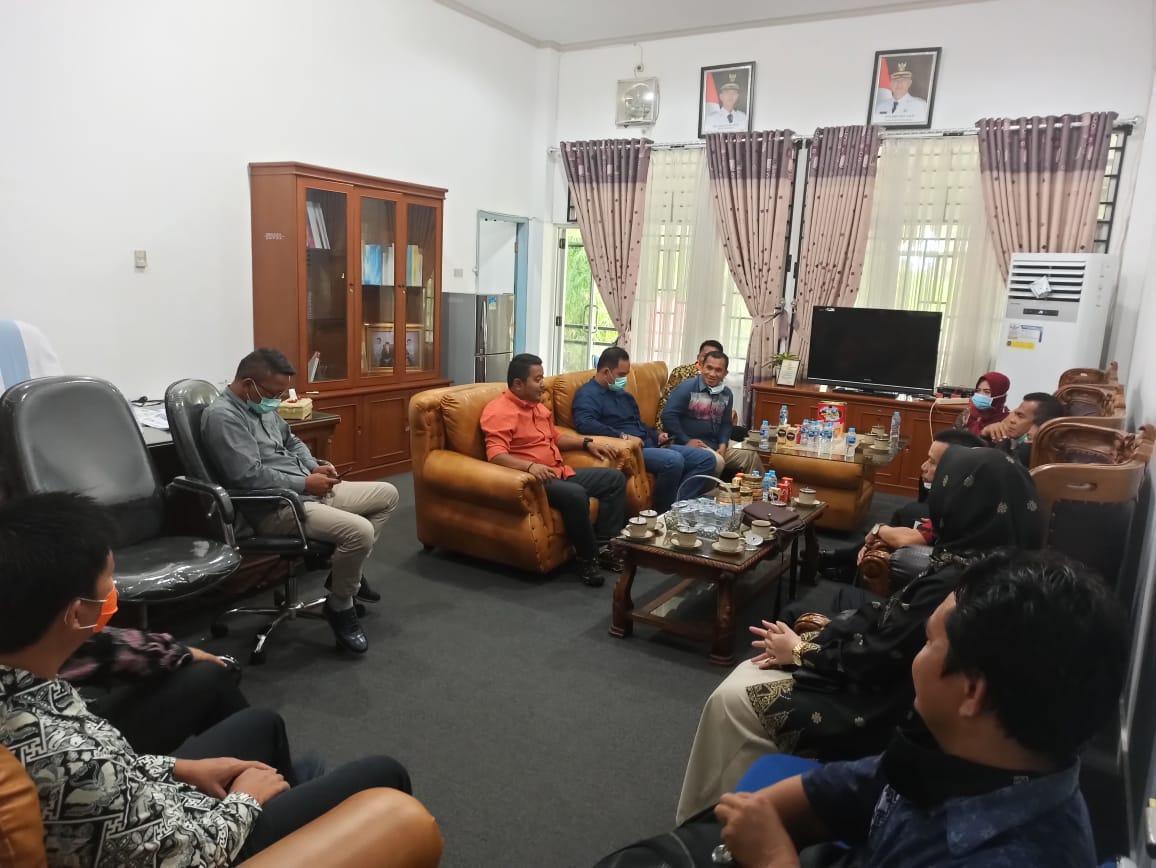 Tukar Informasi Penggunaan Dana Covid-19, DPRD Bangka Barat Berkunjung ke DPRD Kabupaten Bangka