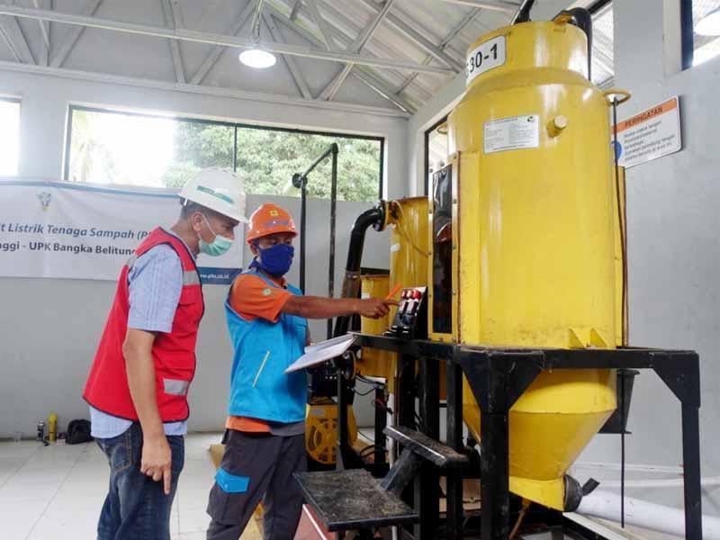 Ubah Sampah Jadi Listrik, PLN Babel Berhasil Uji Coba PLTSa di Pulau Tinggi