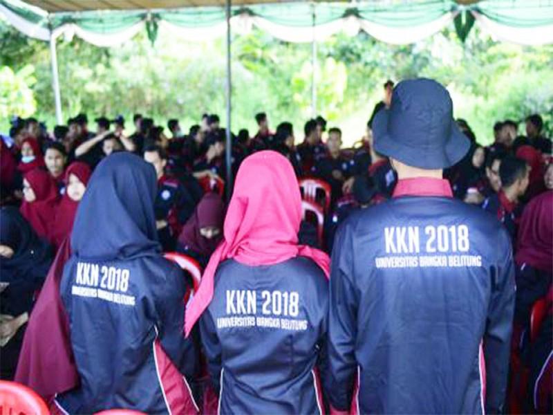 UBB Gelar KKN Revolusi Mental, Rektor Minta Sampai di Desa Segera Lakukan Program Ini