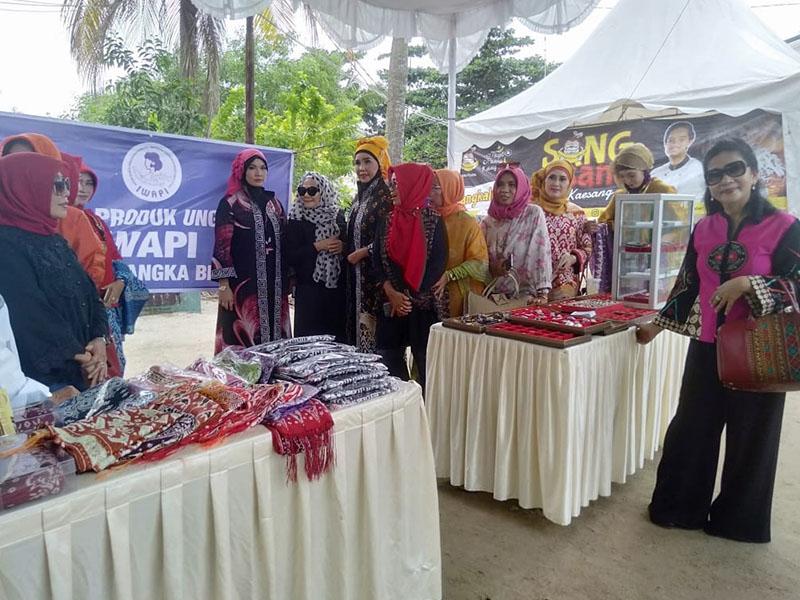 UMKM  Ramaikan Gelaran Bangka Culture Wafe
