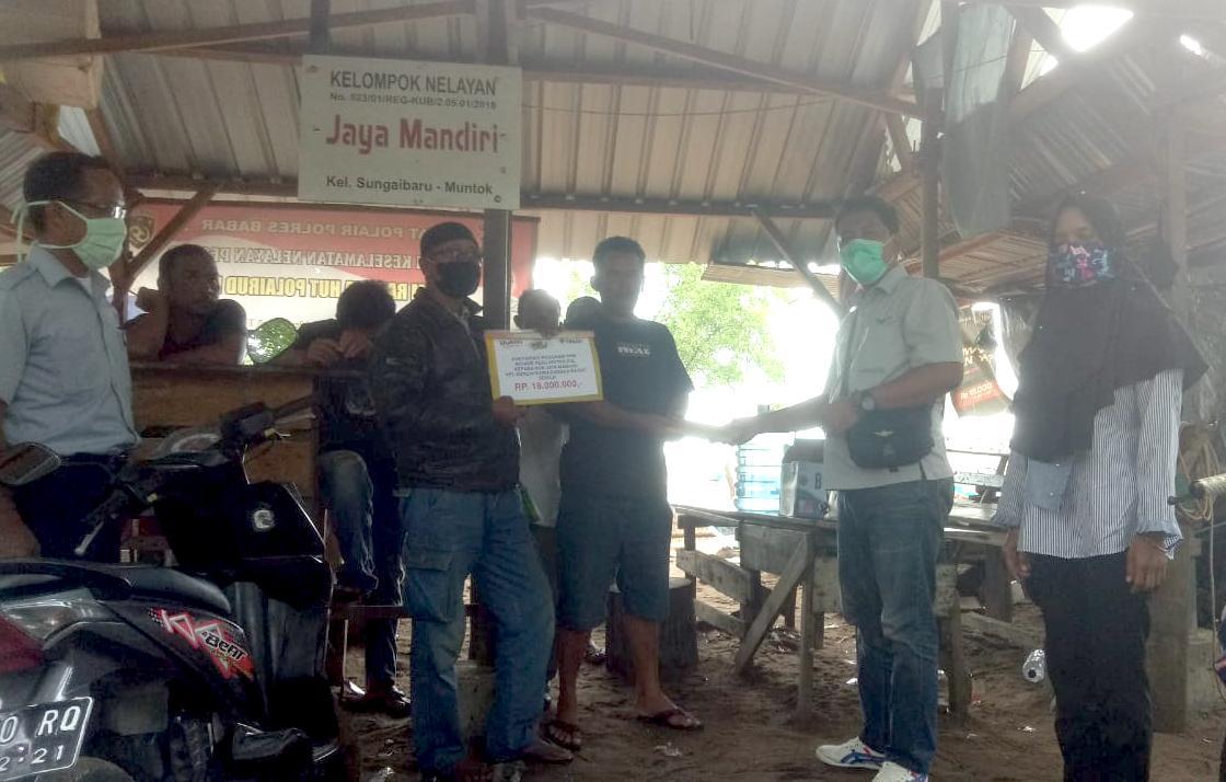 Untuk Meningkatkan Hasil Tangkapan Nelayan, PT. Timah Salurkan CSR