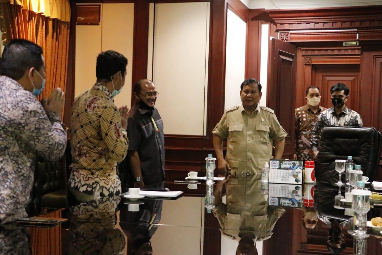 Usai Dengarkan Paparan Gubernur Erzaldi, Prabowo Janji Segera Datang ke Babel