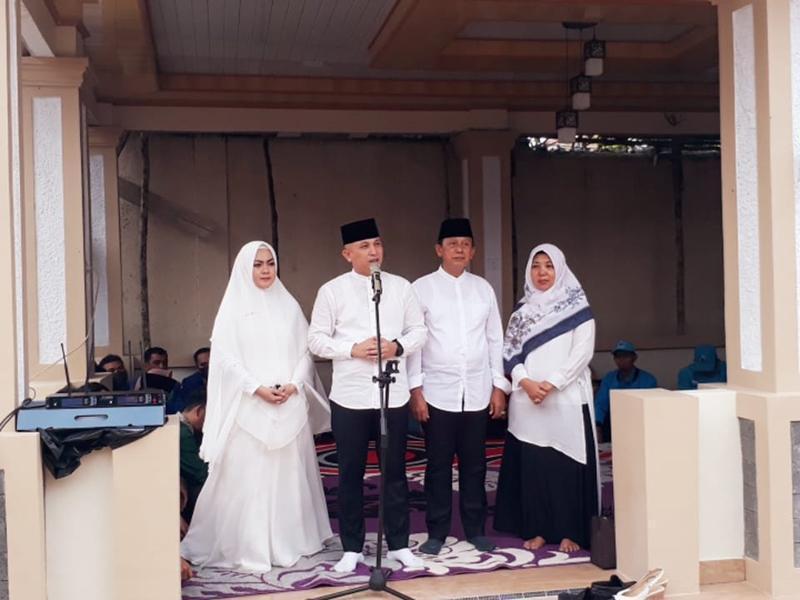 Usai Doa Bersama, Pasangan Didit Srigusjaya - H Korari Suwondo Resmi Daftarkan Diri ke KPU Bateng