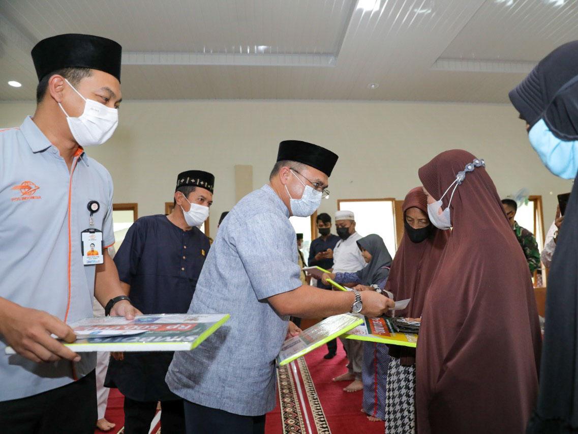 Usai Salurkan Santunan, Gubernur Erzaldi Gelar Rapat Darurat Penanganan Covid-19 di Muntok