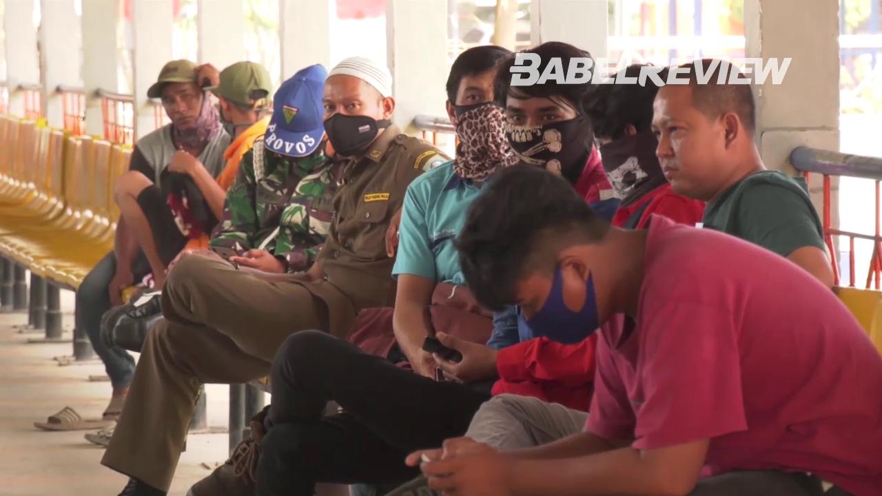 VIDEO Babel Siap Pulangkan 50 Buruh Asal Lampung Korban PHK Dampak Covid-19