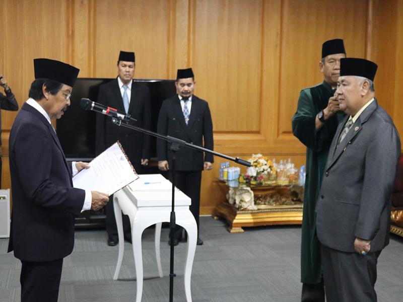 Wagub Abdul Fatah Lantik Penjabat Sekda Babel