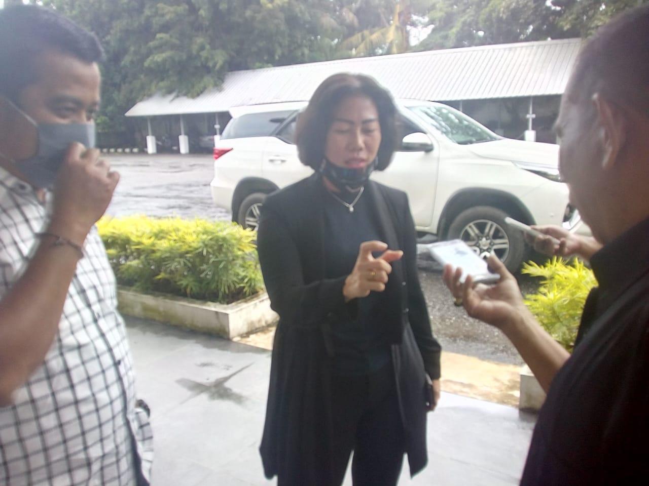 Wakil I DPRD Kabupaten Bangka Terima Kunjungan Ketua DPRD Kabupaten Bangka Tengah