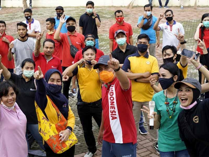Wali Kota Molen Apresiasi PHRI Pangkalpinang Gelar Gotong Royong