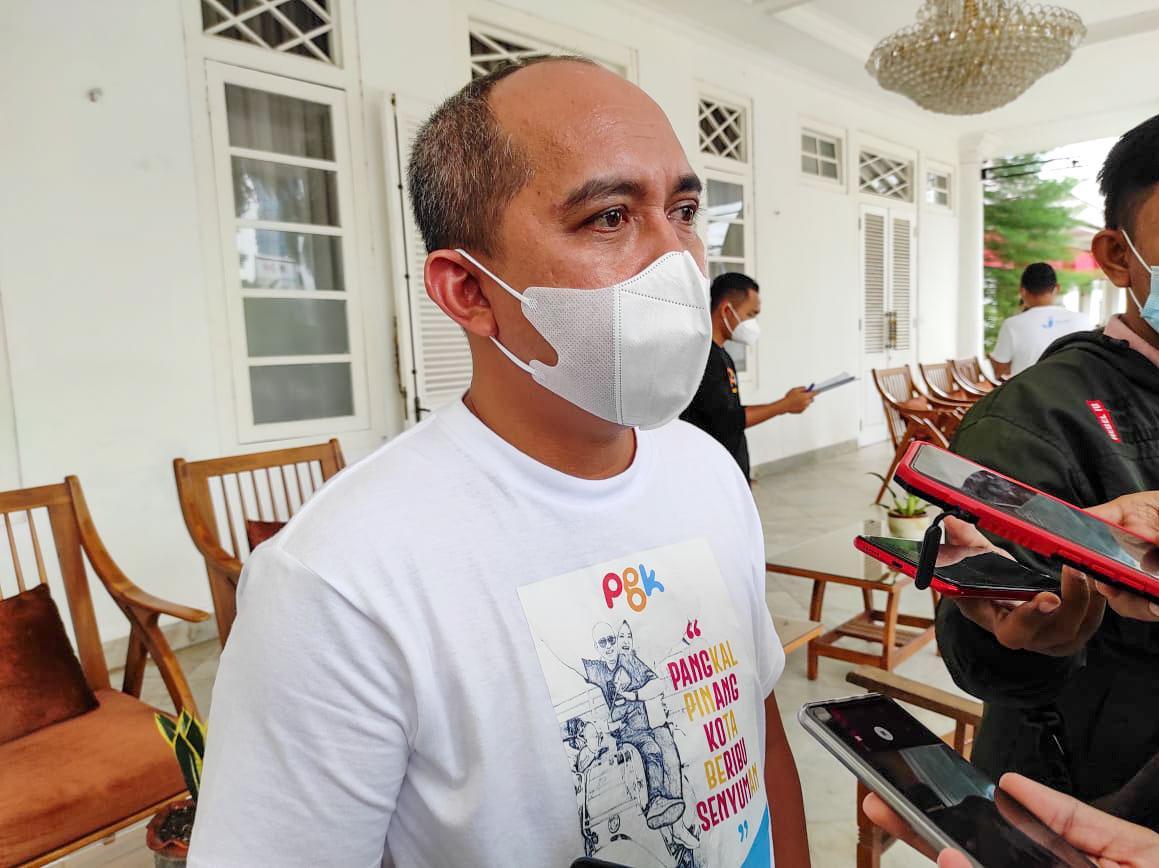 Wali Kota Molen Dukung PHRI Pangkalpinang Beraktivitas dengan Prokes
