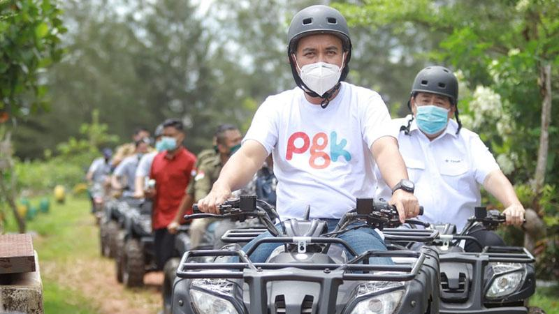 Wali Kota Pangkalpinang Kagumi Kampoeng Reklamasi Air Jangkang