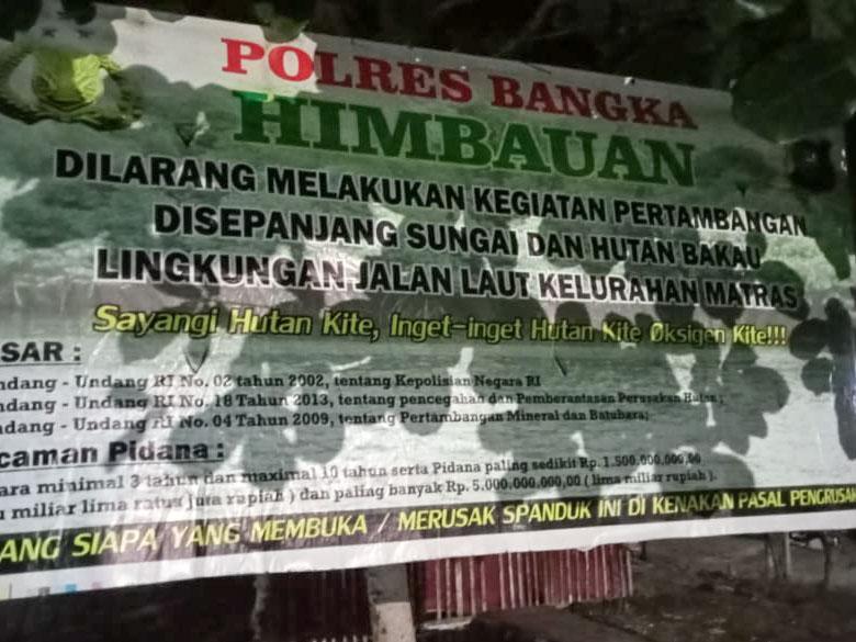 Warga Jalan Laut Ragukan Keabsahan Dokumen SPK PT Timah ke CV BIM