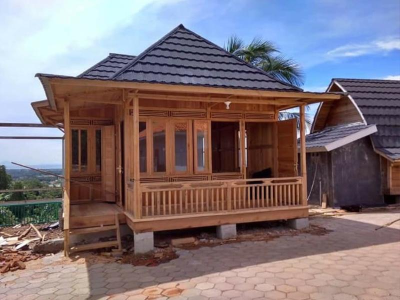 Yang Tertarik Punya Rumah Kayu?, Siapkan Saja Uang Rp 1,7-2 Juta Per M2